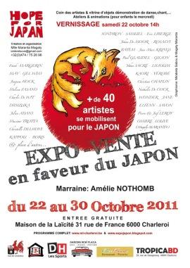 2011 - Exposition caritative (Salle d'exposition La maison de la Laïcité, Charleroi, BELGIQUE)