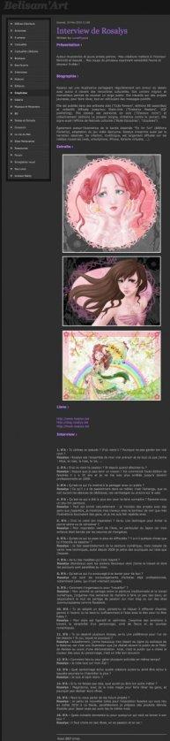 Belisam'Art : Site d'art (FR) 2010