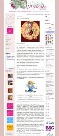 La luciole masquée : Site pour illustrateurs (FR) 2008