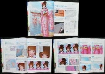 Tutorial Pink kimono : Comment créer une illustration complète de l'esquisse à la colorisation sur Photoshop 2012